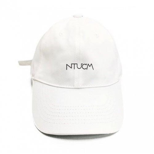 NTUCM城市風簡約老帽-白